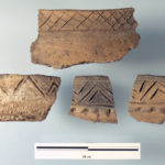 Beckman decorated rim fragments